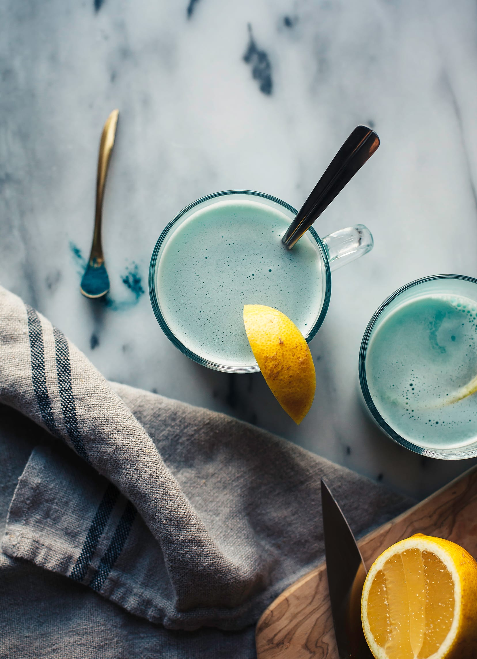 BLUE MAJIK TODDY WITH GINGER & LEMON - The First Mess