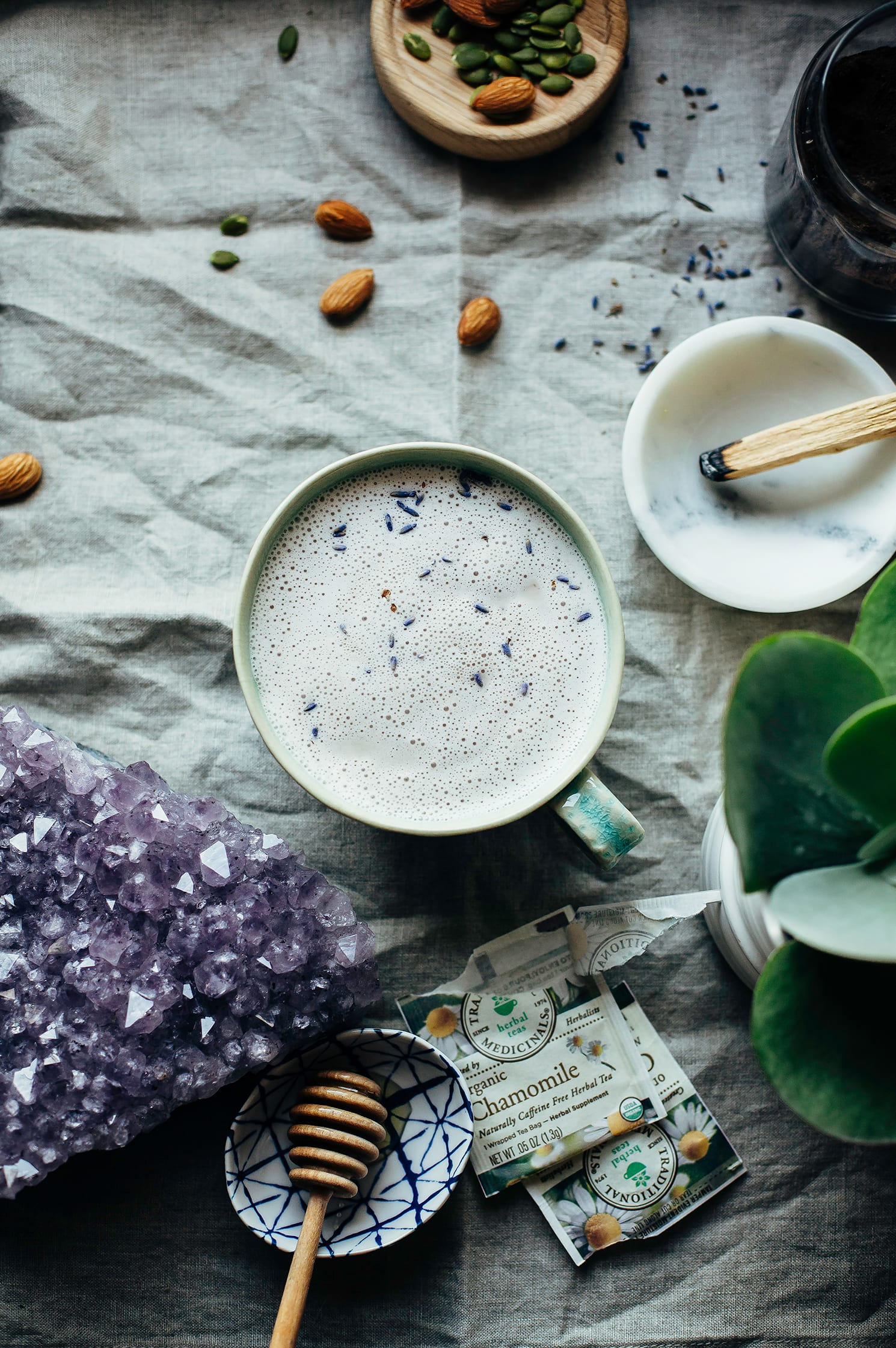 INSTANT CALM TEA LATTE - The First Mess