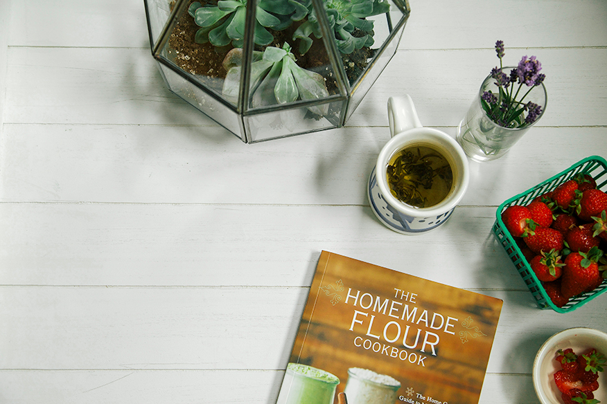 The Homemade Flour Cookbook by Erin Alderson // the first mess