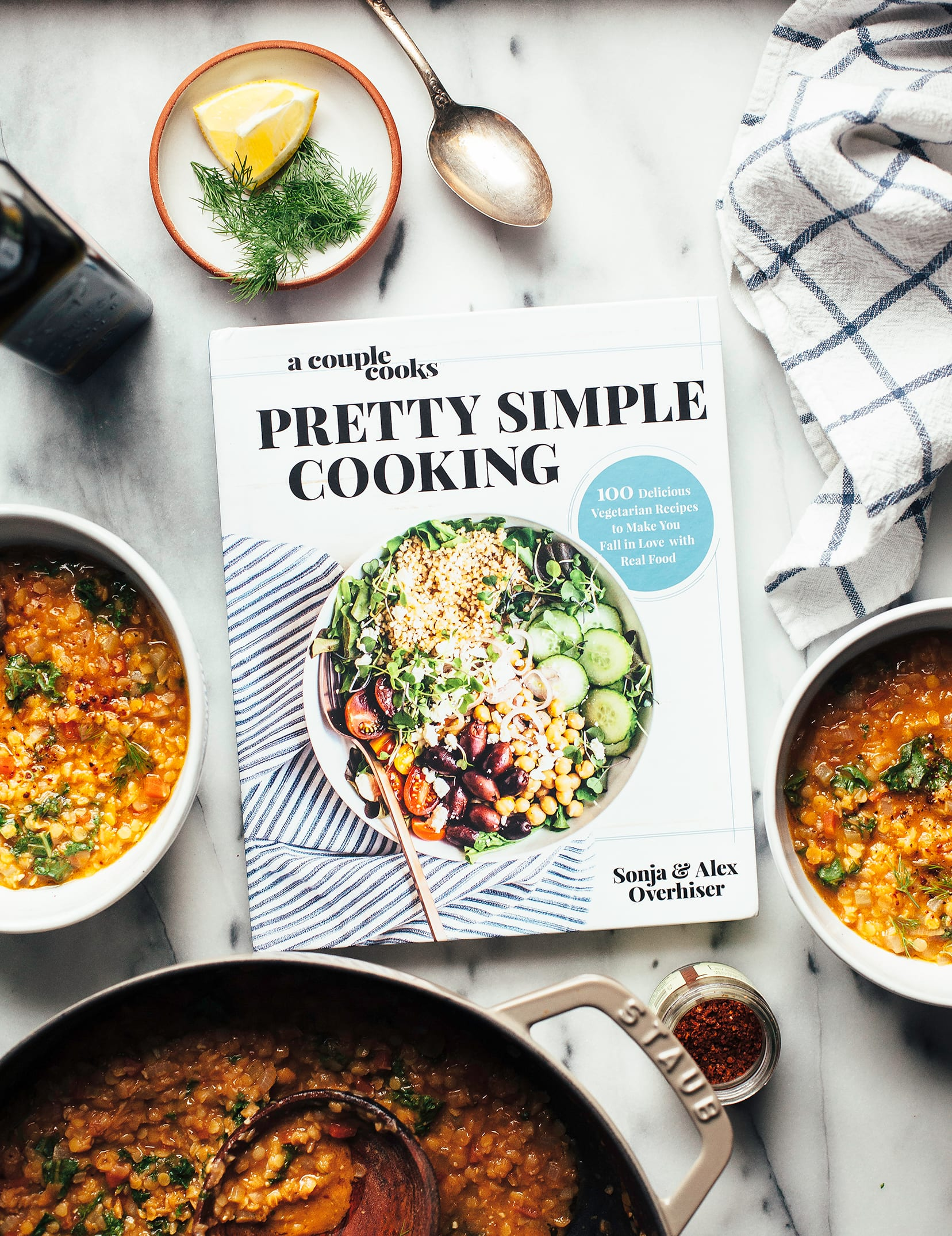 "QUICK SMOKY LENTIL STEW from ""Pretty Simple Cooking"""
