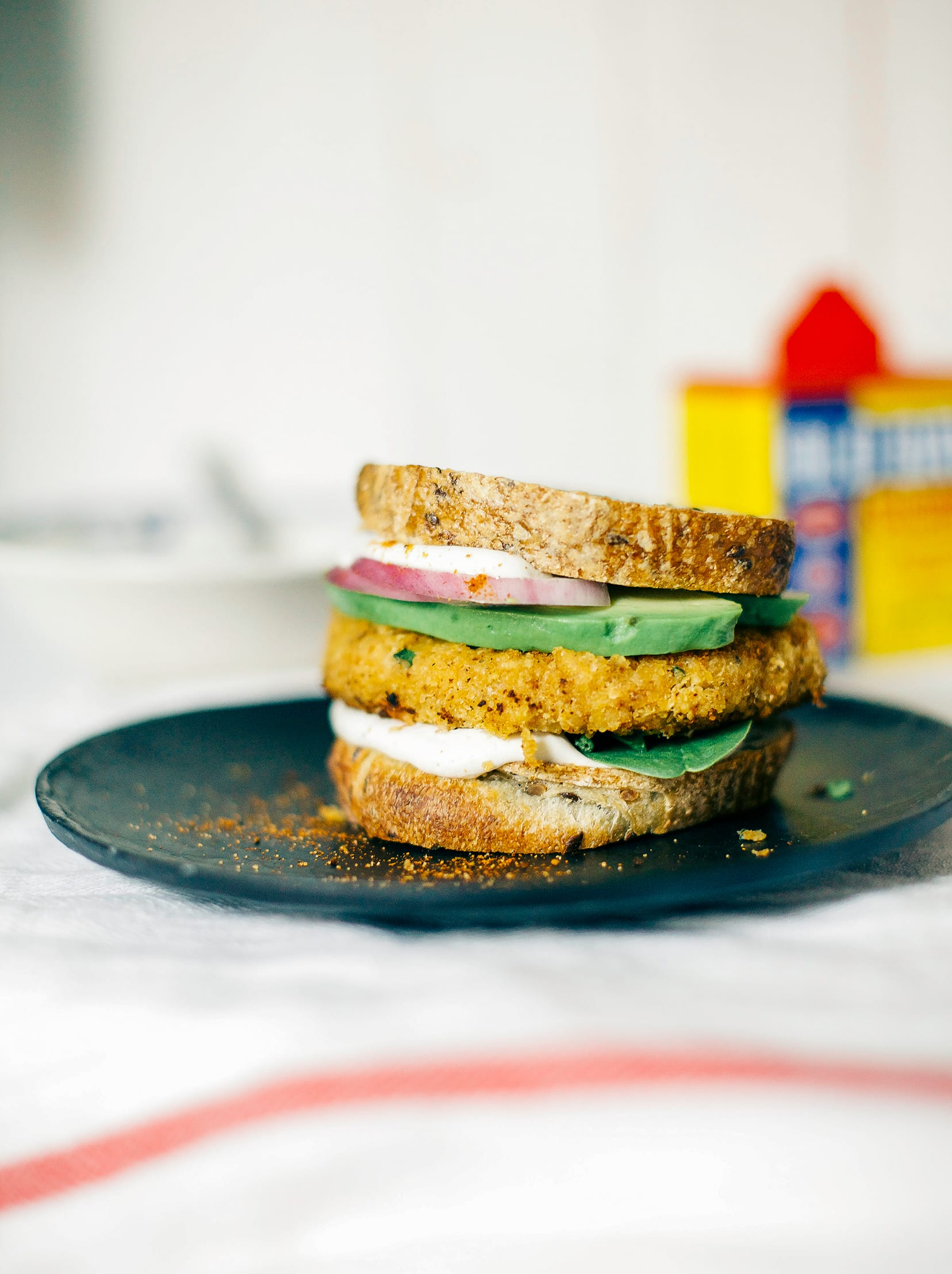 Chickpea & Cauliflower Burgers with Old Bay - The First Mess