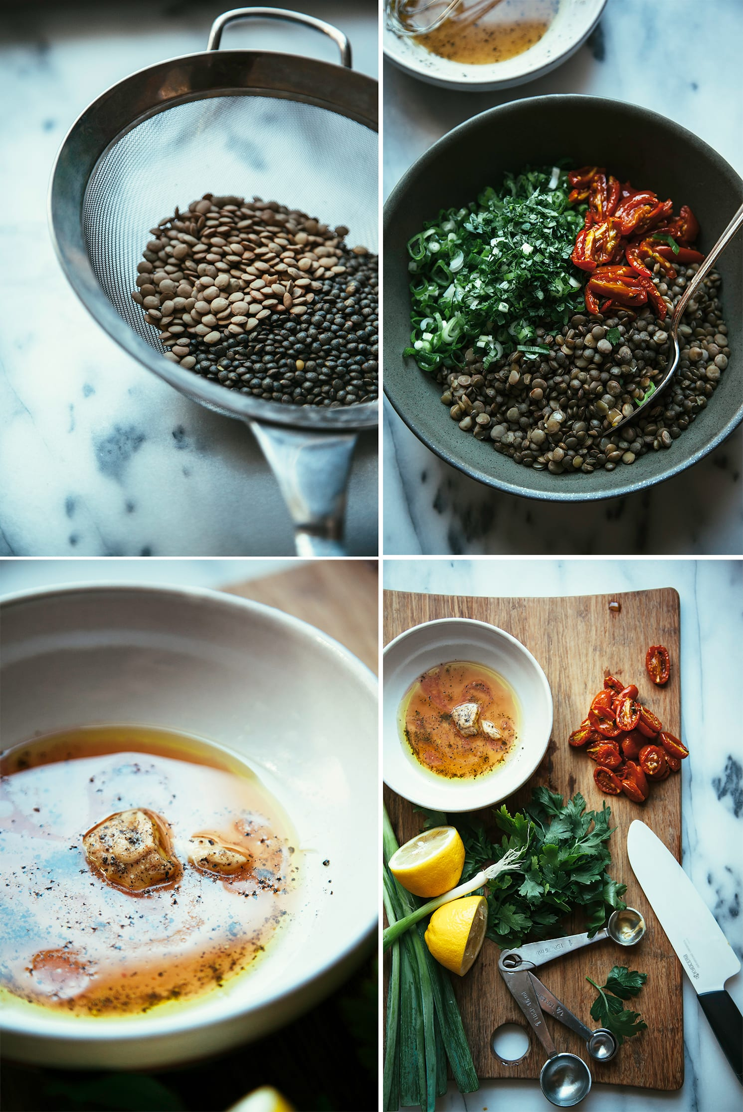 """the best marinated lentils from """"Oh She Glows Every Day"""" - The First Mess"""