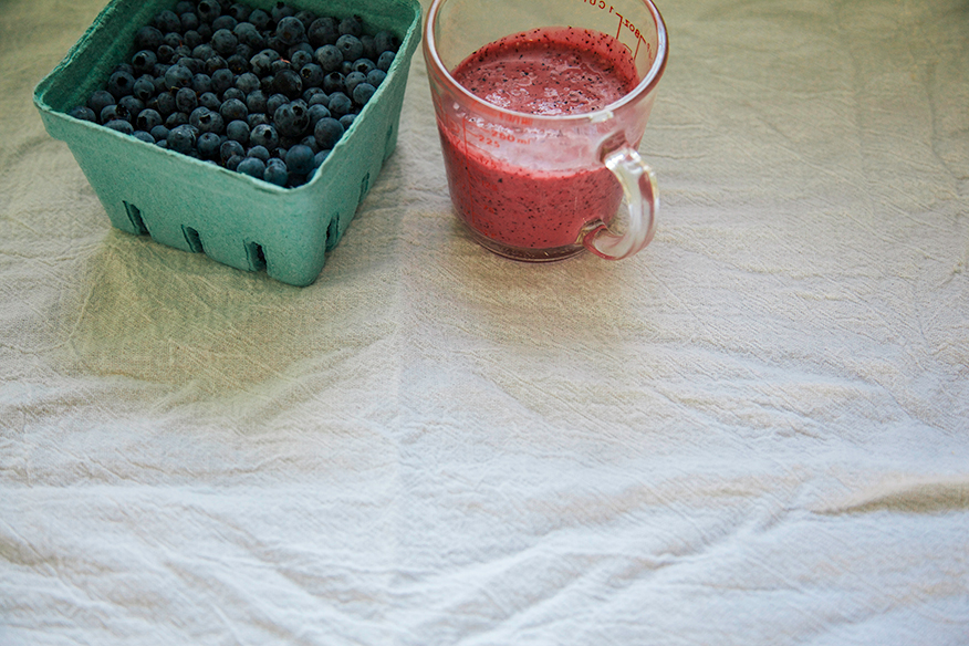 blueberry dressin' // the first mess