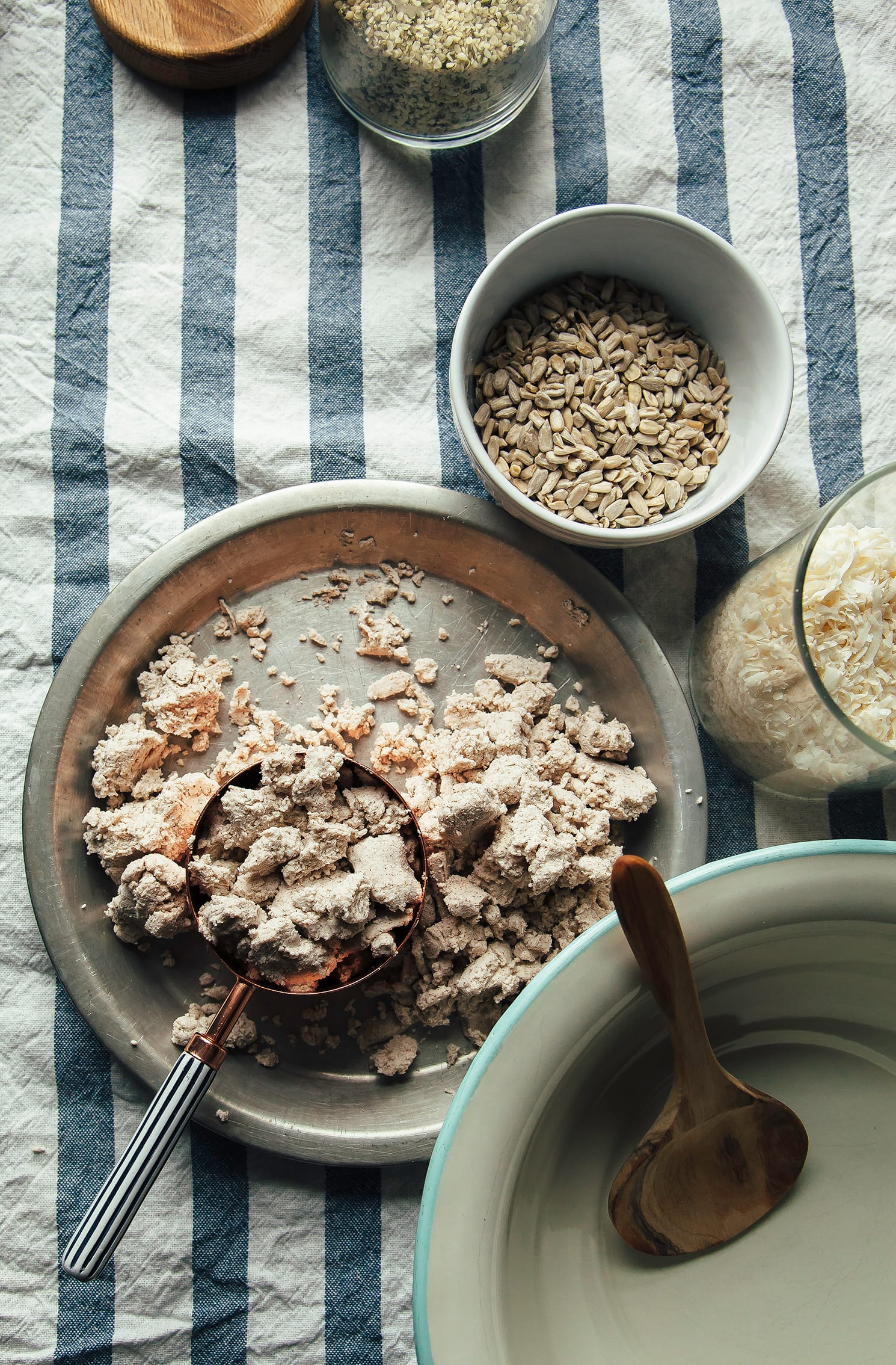 No-Waste Nut Pulp Granola (vegan, grain-free) - The First Mess