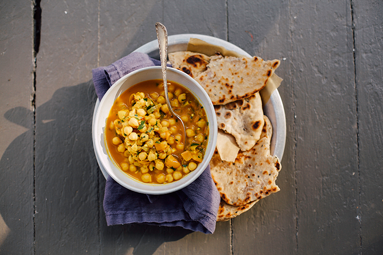 golden chana masala // via thefirstmess.com