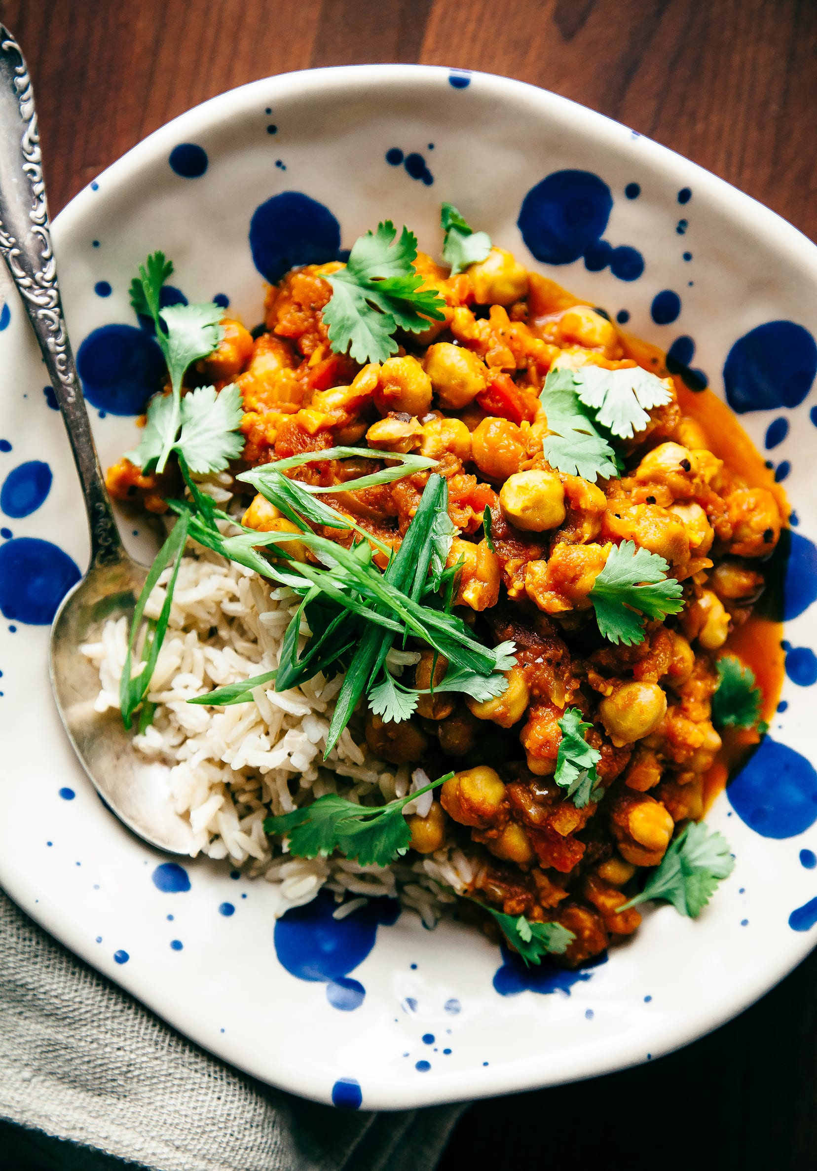 INSTANT POT CHANA MASALA - The First Mess