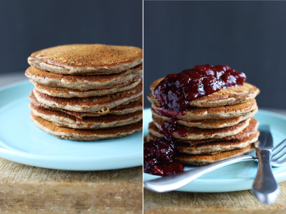vegan dirty chai pancakes - The First Mess