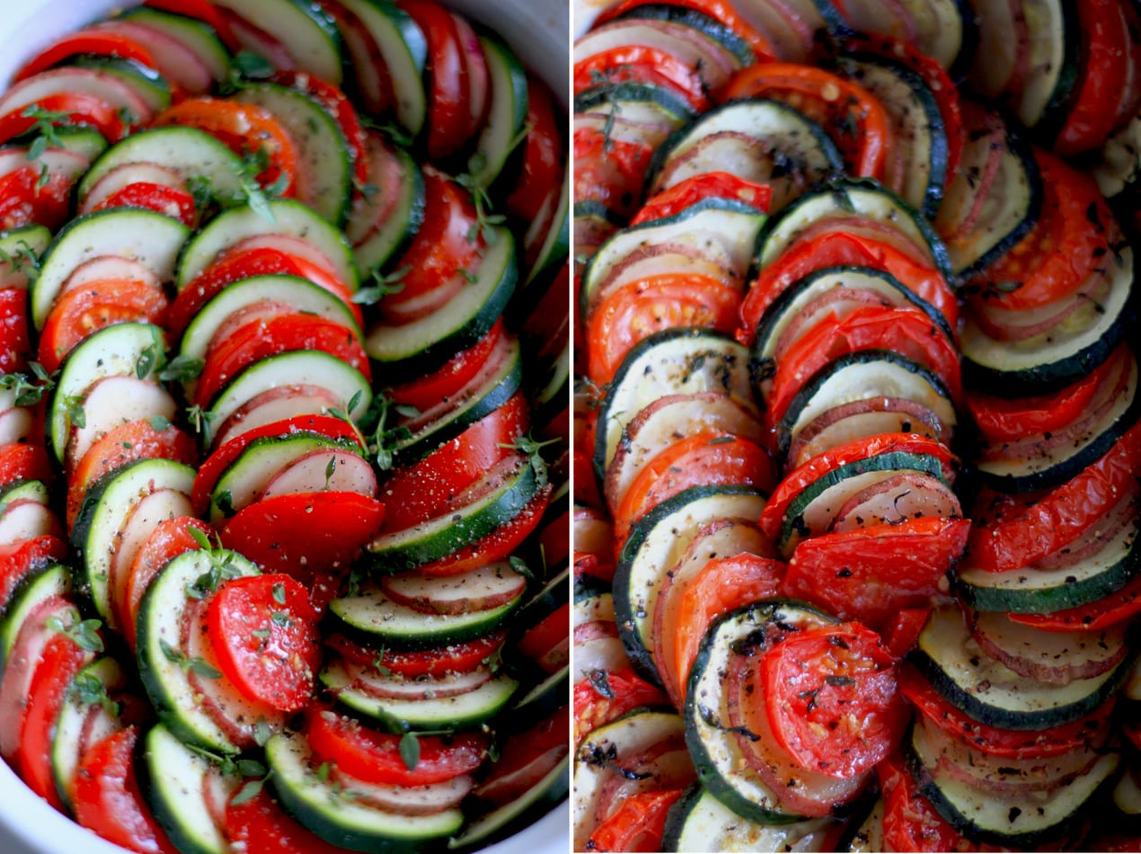 SUMMER VEGETABLE TIAN » The First Mess // Plant-Based Recipes ...