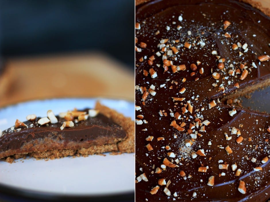 chocolate salty tart + candy bars » The First Mess // healthy vegan ...