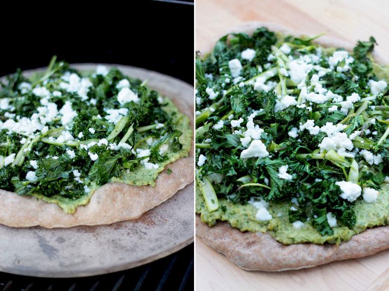 green goddess pizza - The First Mess
