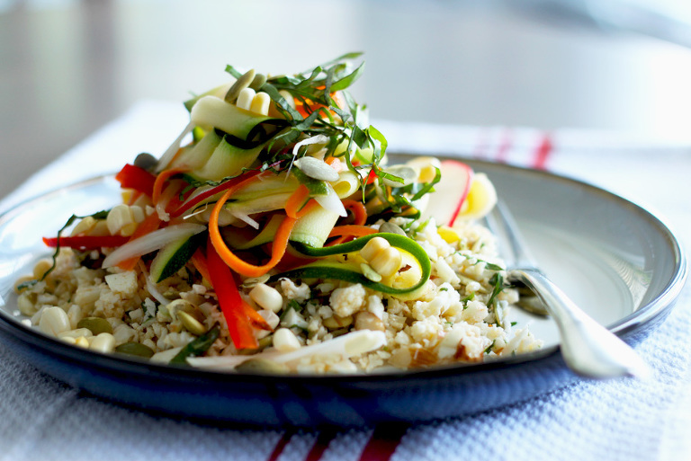 """vegetable ceviche w/ chipotle pepita """"pilaf"""" - The First Mess"""