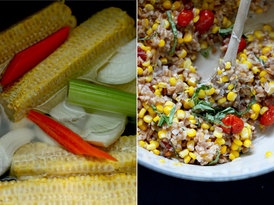 sweet corn + caramelized tomato farrotto » The First Mess // healthy ...