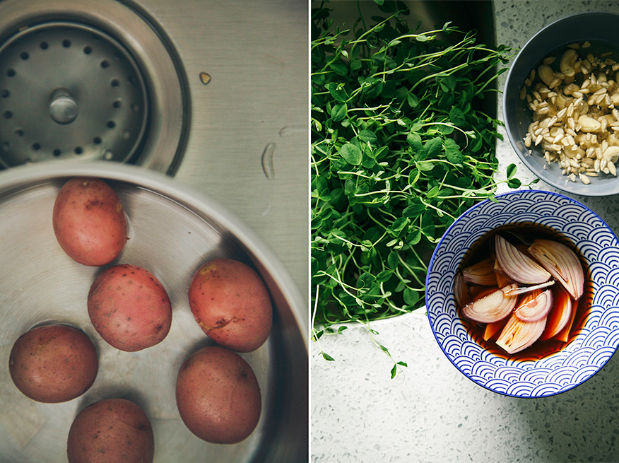 mise en place // the first mess