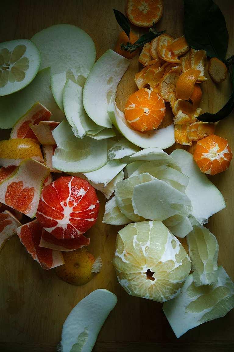 satsuma, grapefruit, pomelo // the first mess