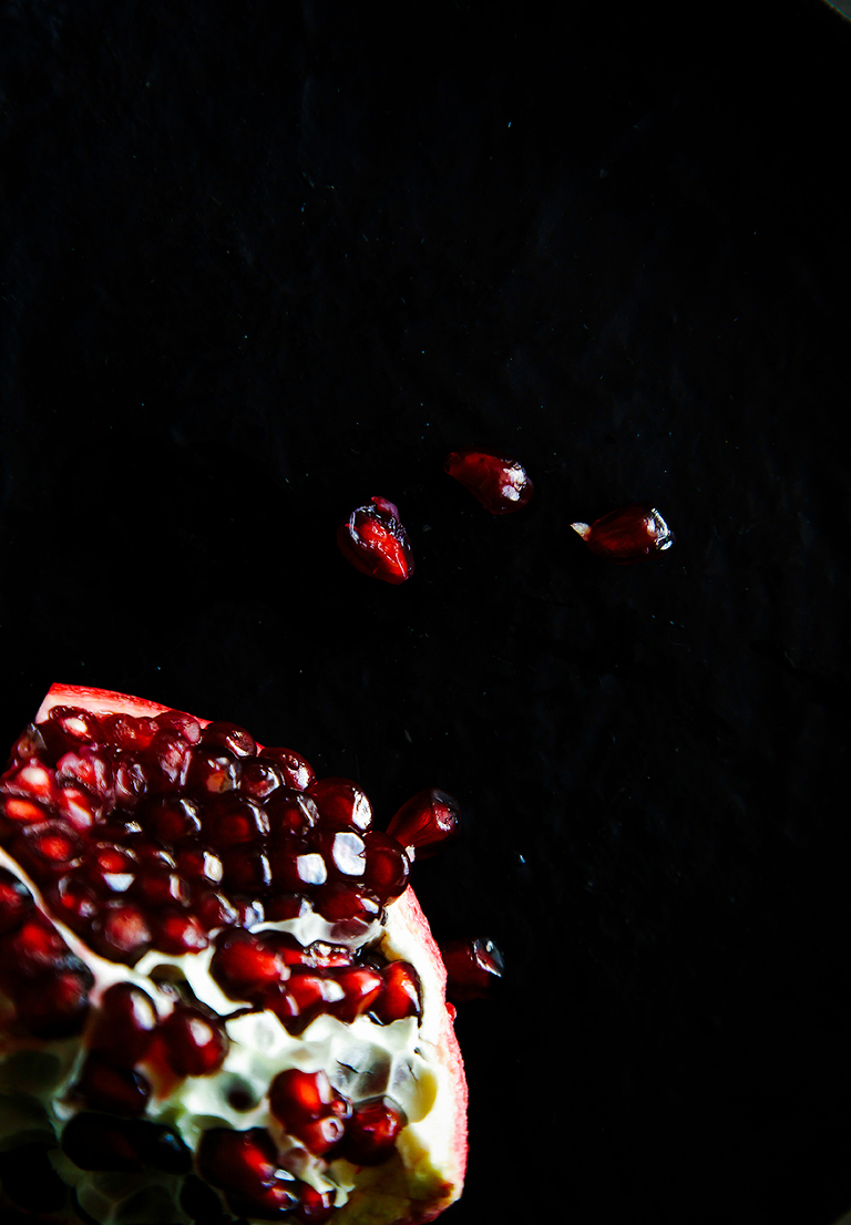 pomegranate // the first mess