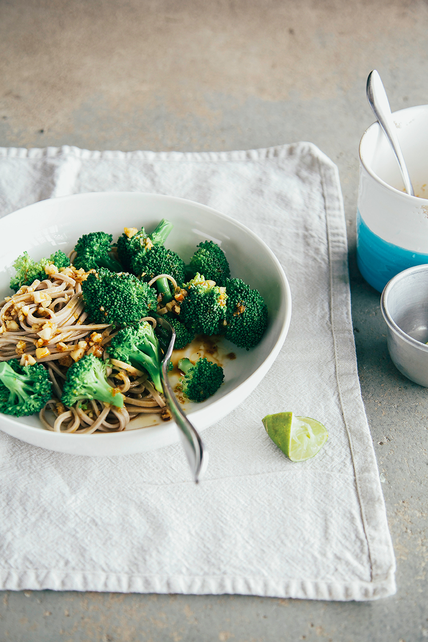 Simple Salty Sweet Amp Nutty Broccoli Soba 187 The First Mess