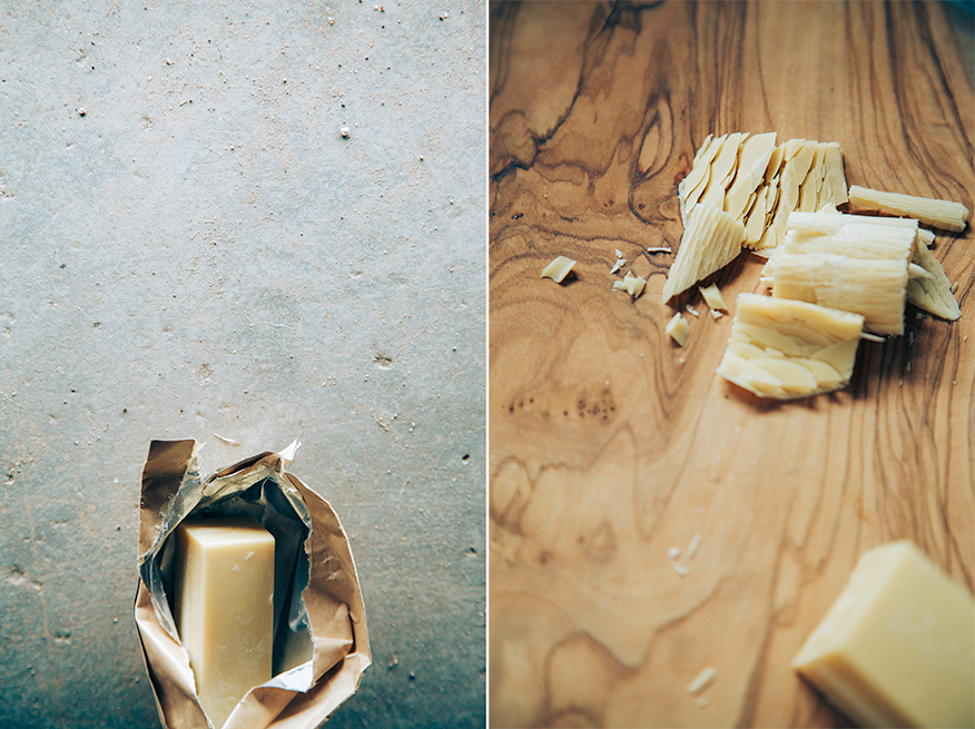 cacao butter // the first mess