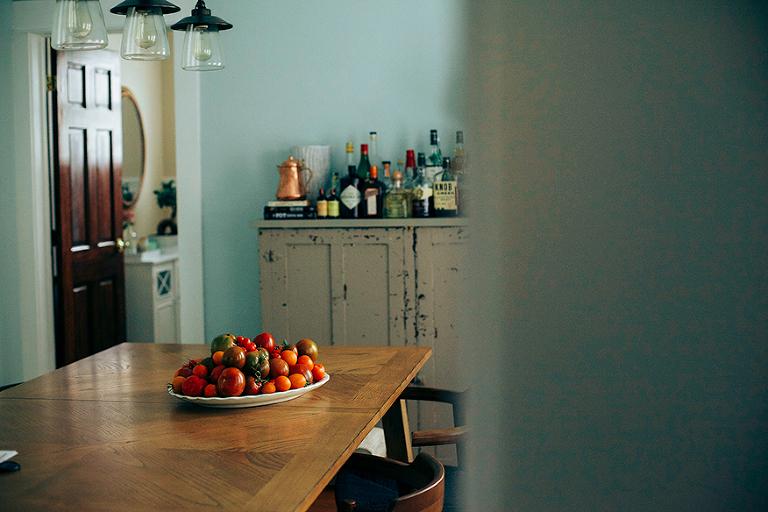 tomato centrepiece // @thefirstmess