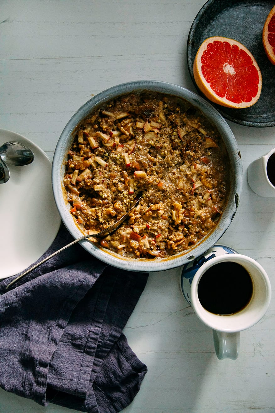 hearty apple-spice baked buckwheat » The First Mess // healthy vegan ...