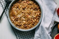 hearty apple-spice buckwheat bake // via @thefirstmess