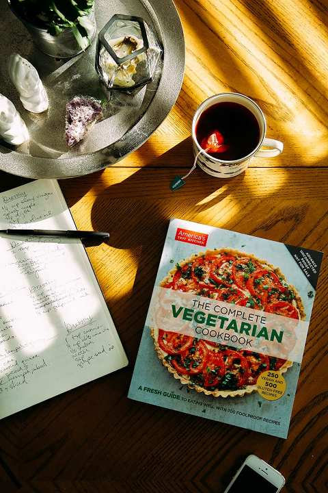 The Complete Vegetarian Cookbook by ATK // @thefirstmess