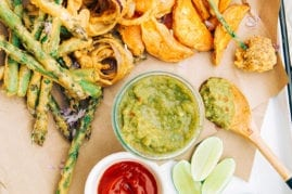 Tara's crispy and delicious vegetable pakoras // thefirstmess.com