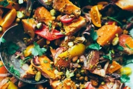 moroccan-ish sweet potato sunshine salad // thefirstmess.com