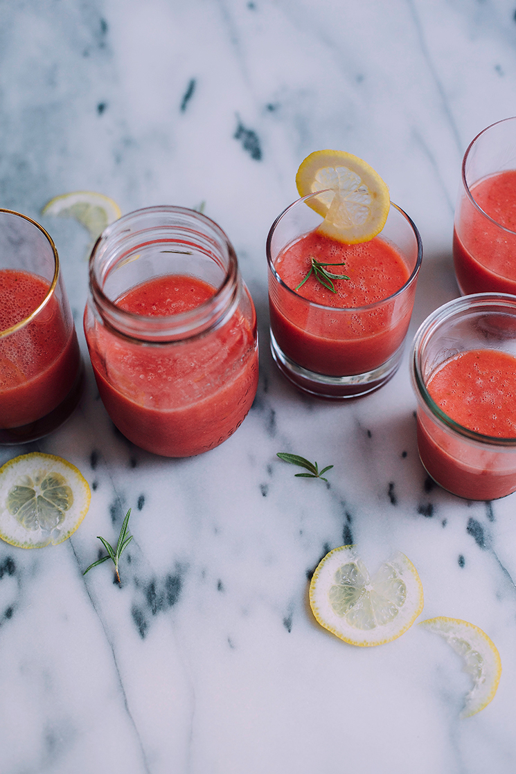 frozen rosemary watermelon-ade // the firstmess.com