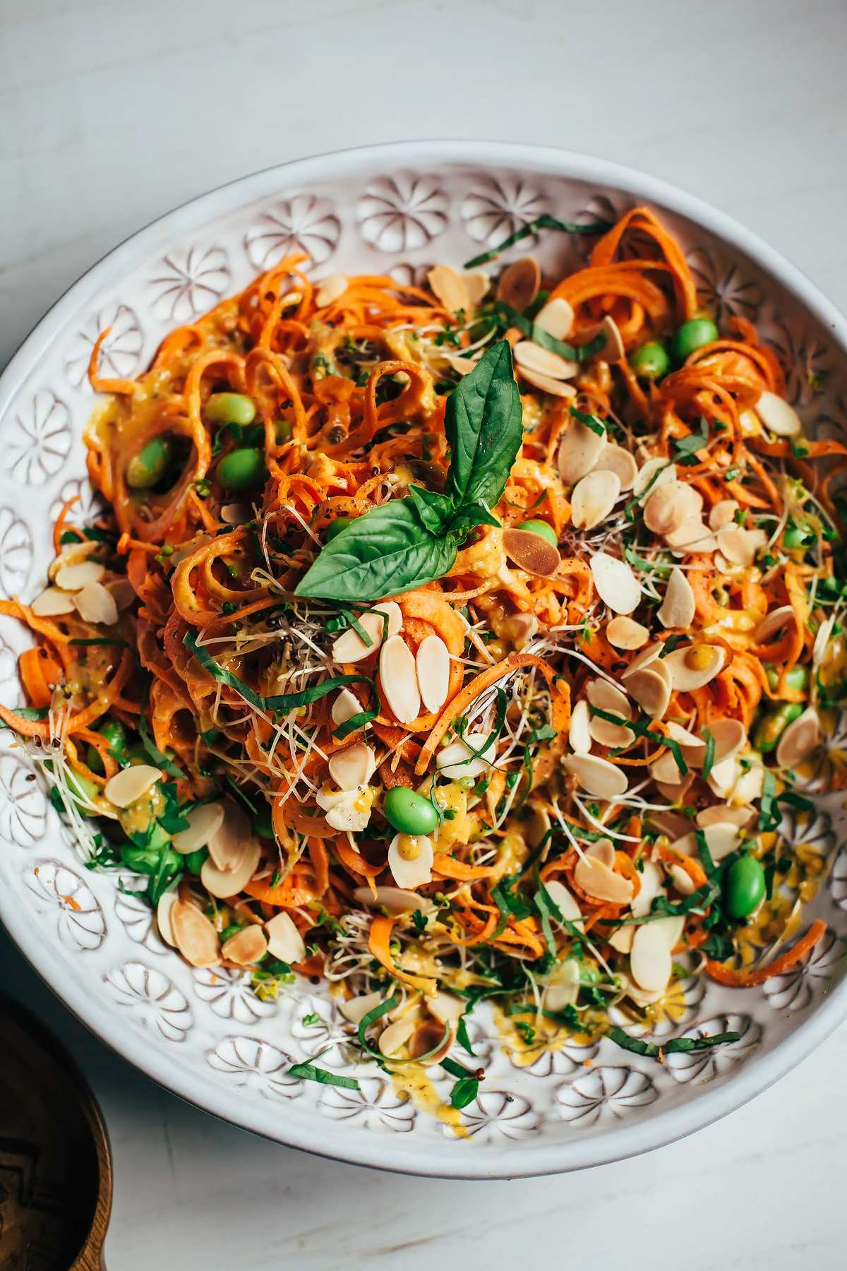 SWEET POTATO NOODLE SALAD WITH CREAMY CHIPOTLE MISO SAUCE ...