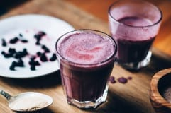 blueberry maca