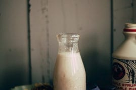 Creamy cinnamon milk #vegan - The First Mess