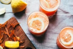 carrot ginger lemonade - The First Mess