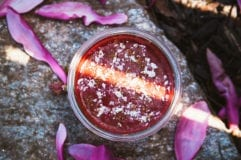berry beet velvet smoothie - The First Mess