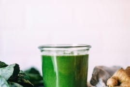 wild ginger green smoothie - The First Mess