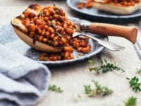 miso and molasses baked beans - The First Mess