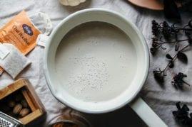 the dirty deluxe (pumpkin, masala chai tea, espresso) - The First Mess