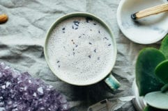 Instant Calm Tea Latte: the perfect bedtime sip - The First Mess