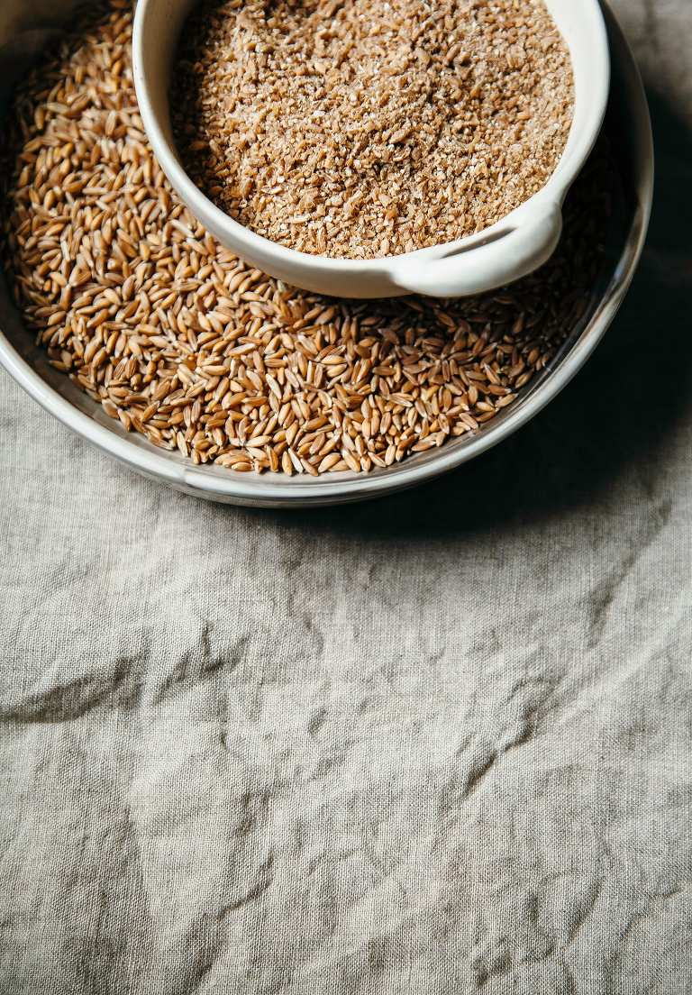 Whole and cracked farro - The First Mess