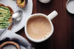 Adaptogenic Hot Cocoa with Cordyceps (vegan recipe)