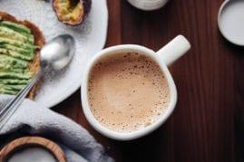 Adaptogenic Hot Cocoa with Cordyceps (vegan recipe)