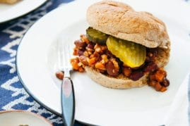 Vegan Sloppy Janes from