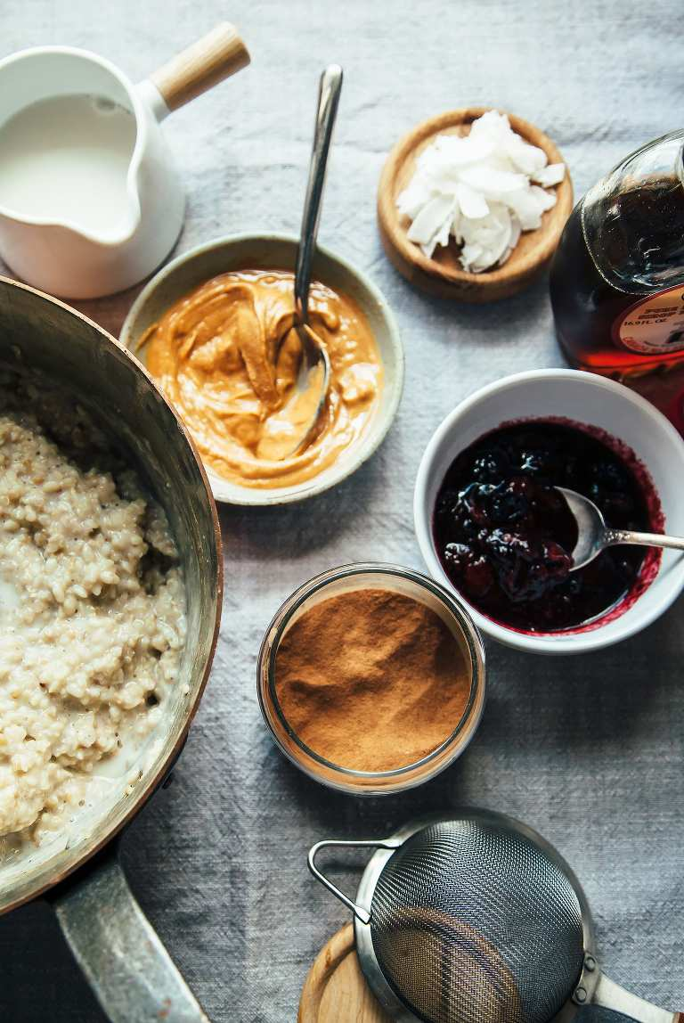 Protein porridge and toppings - The First Mess