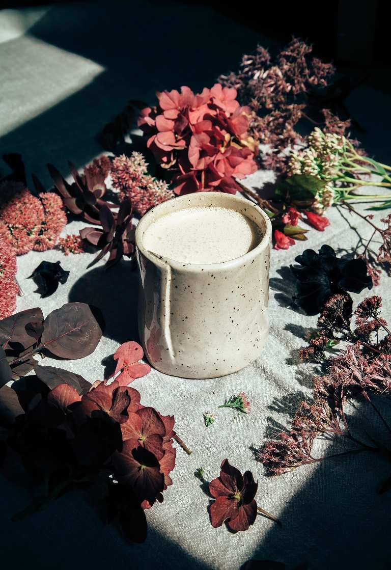 Vegan White Chocolate Mocha with Herbal Coffee - The First Mess