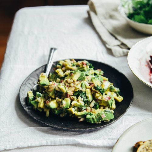 Avocado Tartare - The First Mess
