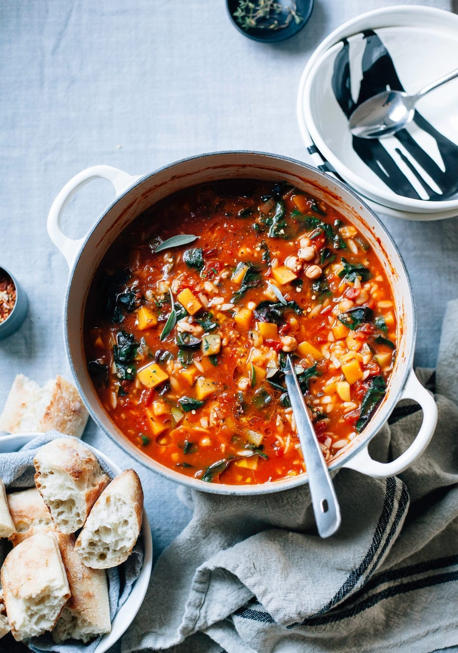 Butternut Minestrone With Sage Chickpeas Amp Chard 187 The