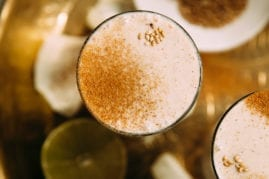 Tahini Shake with Cinnamon & Lime - The First Mess