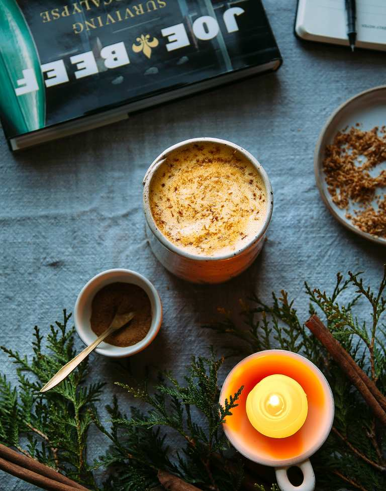 COZY CARROT CAKE LATTE - The First Mess