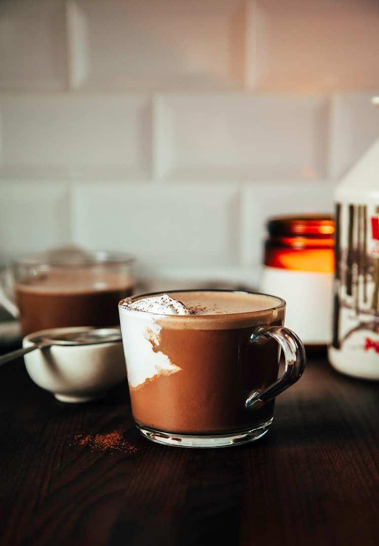 MAPLE WALNUT HOT CHOCOLATE (vegan recipe) - The First Mess