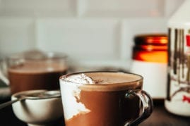 MAPLE WALNUT HOT CHOCOLATE (vegan recipe) - The First Mess