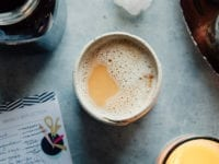 MASALA ROOIBOS CHAI LATTE & CONCENTRATE - The First Mess #vegan #dairyfree #healthyrecipes